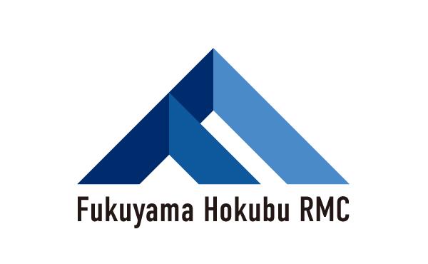 未来を表現した青色のロゴ